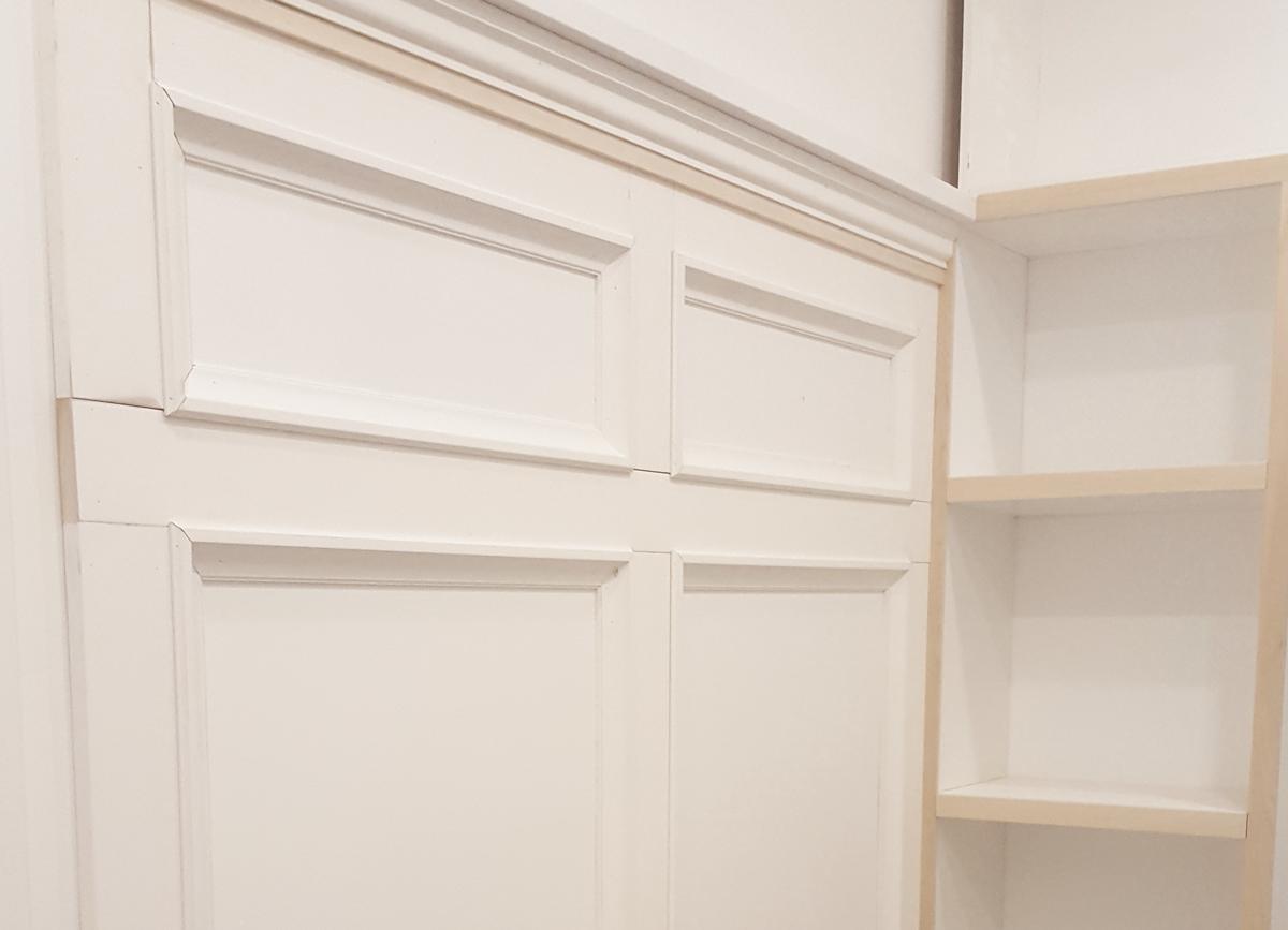 Door Renovation in Progress - Carpentry and Contracting