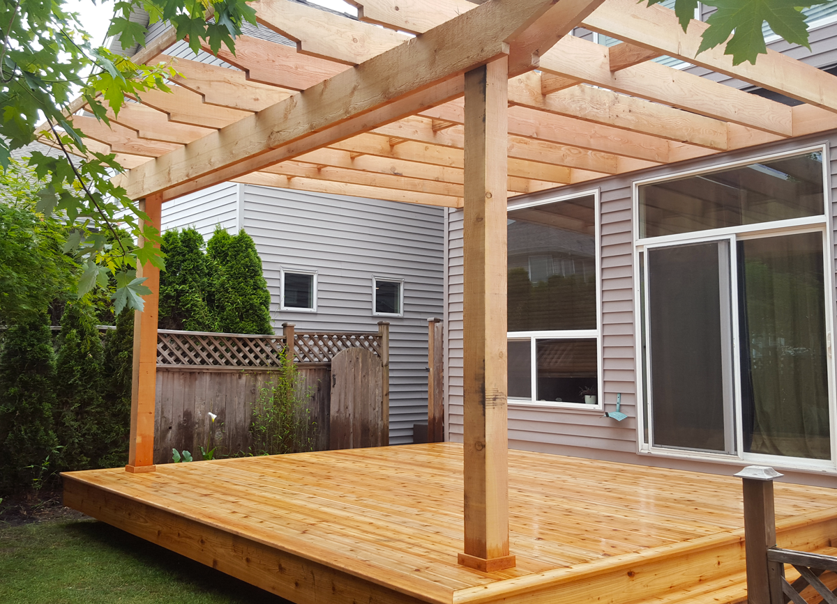 Pergola from WhalleyWorks Landscape Carpentry